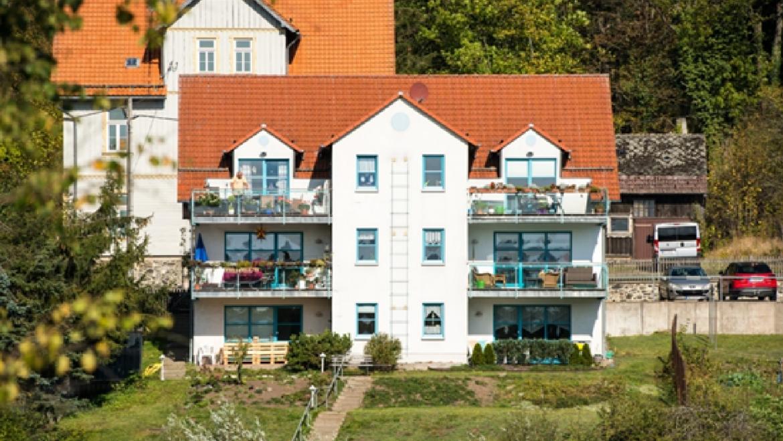 Schöne 3 Raum Wohnung in Stiege mit Seeblick