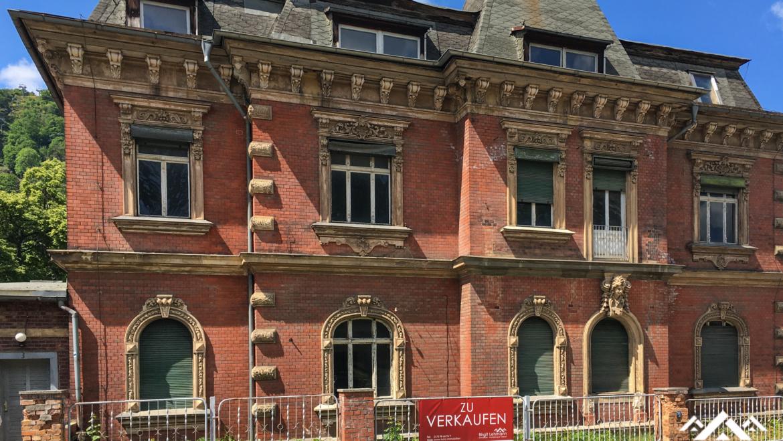 Denkmalgeschützte Villa in Thale